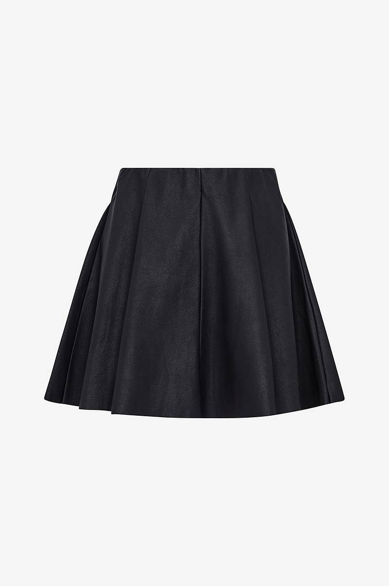 Kjol onlBase Neoline Faux Leather Skirt