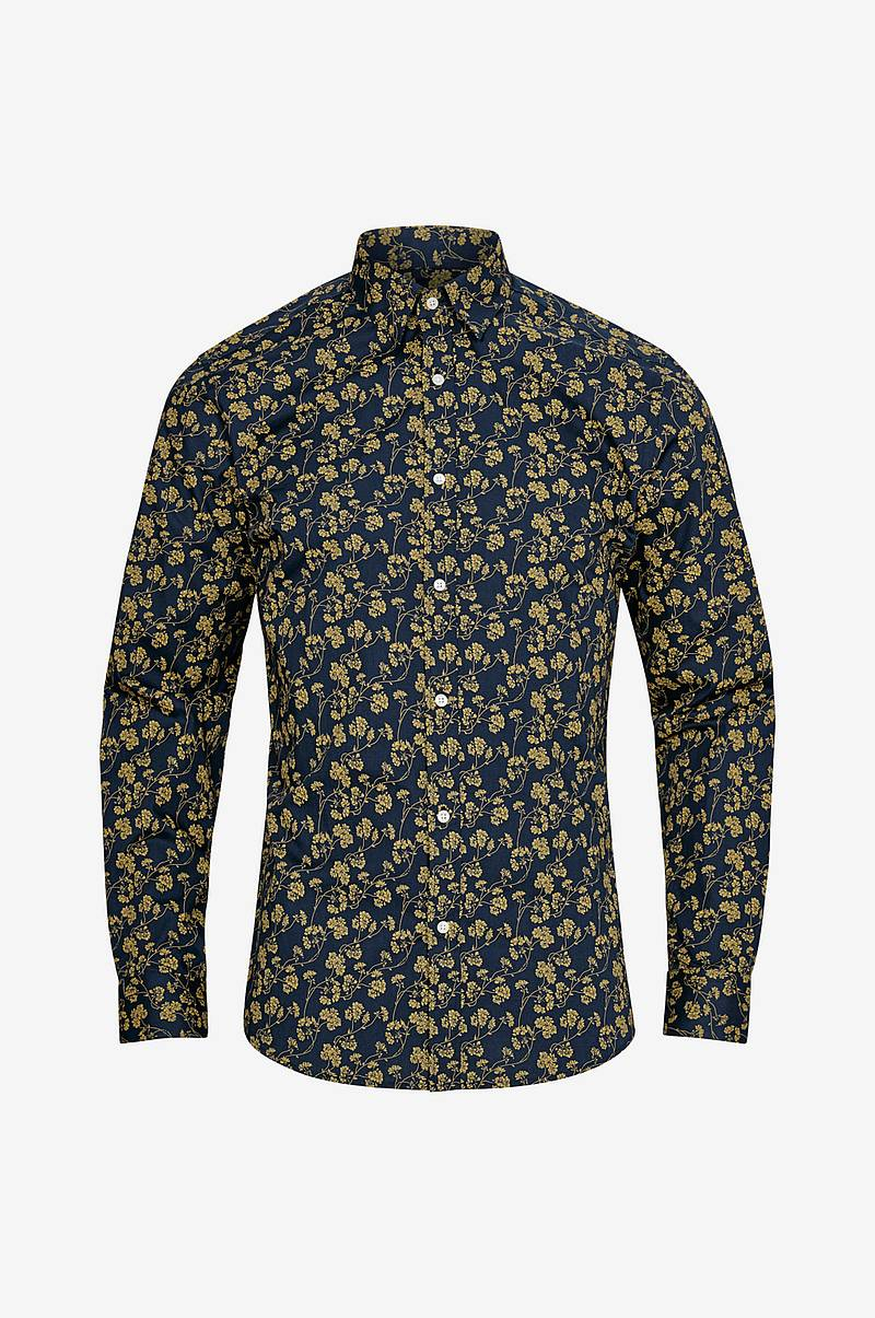 Skjorte jprArizona Flower Shirt L/S Pre, slim fit