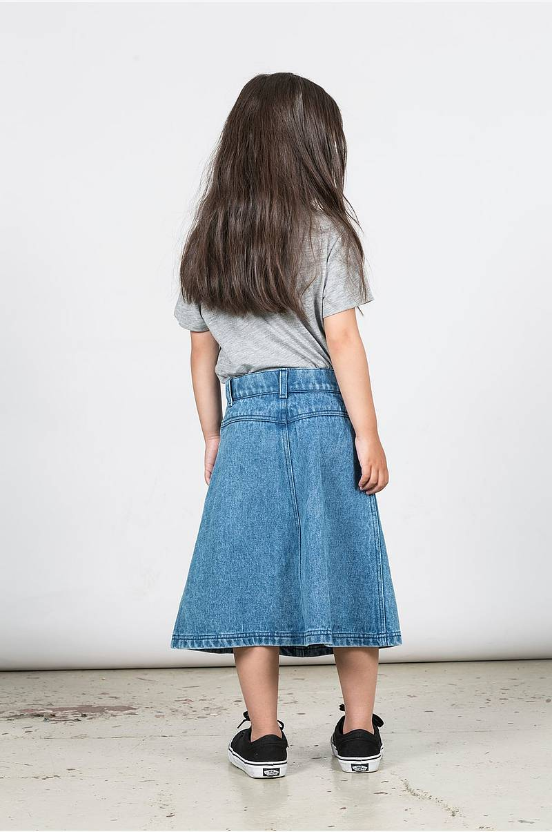Jeanskjol Eva Denim Skirt