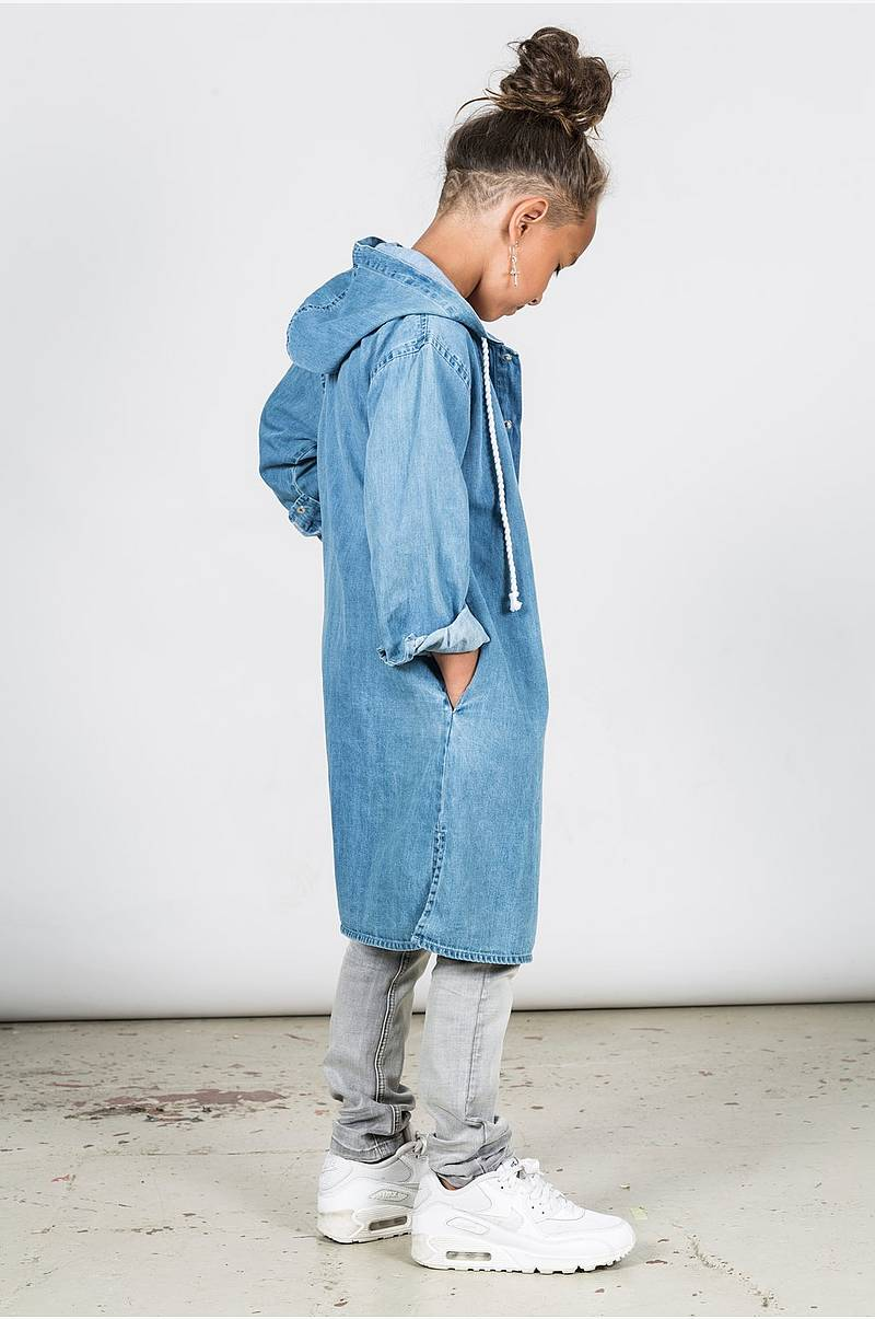 Jeanskappa Franny Denim Coat