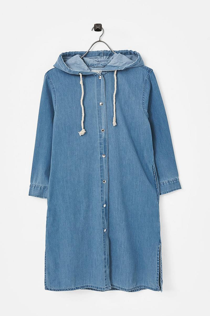 Jeanskåpe Franny Denim Coat
