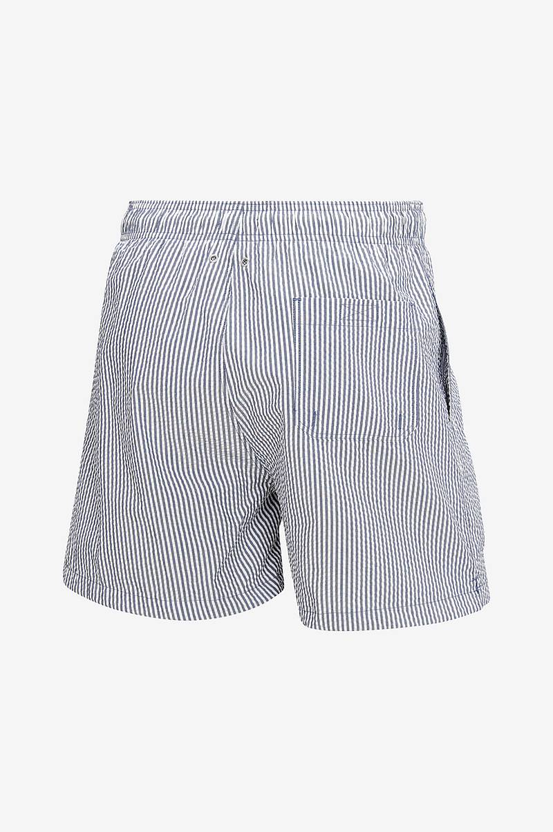 Badeshorts Seersucker Swim Shorts Classic Fit