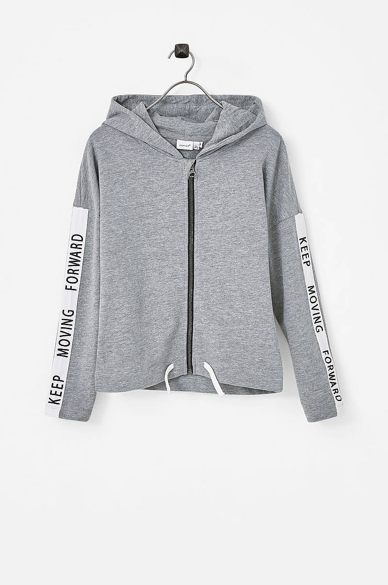 Sweatshirt nkfTina LS Sweat Card WH Bru