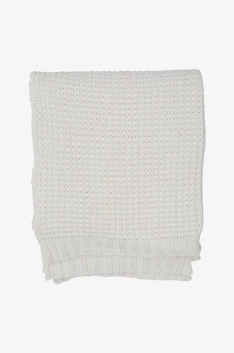Pläd Knitted Cotton Throw