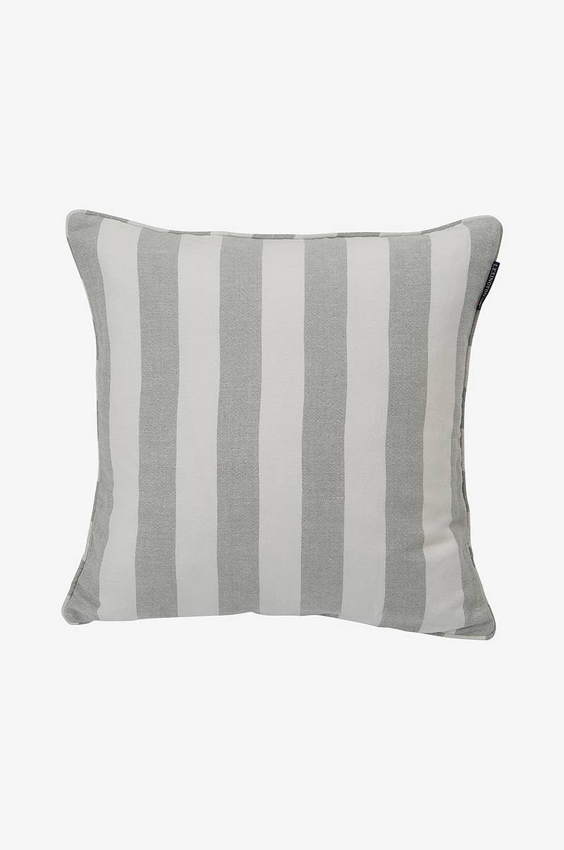 Kuddfodral Viscose/Linen Striped Sham