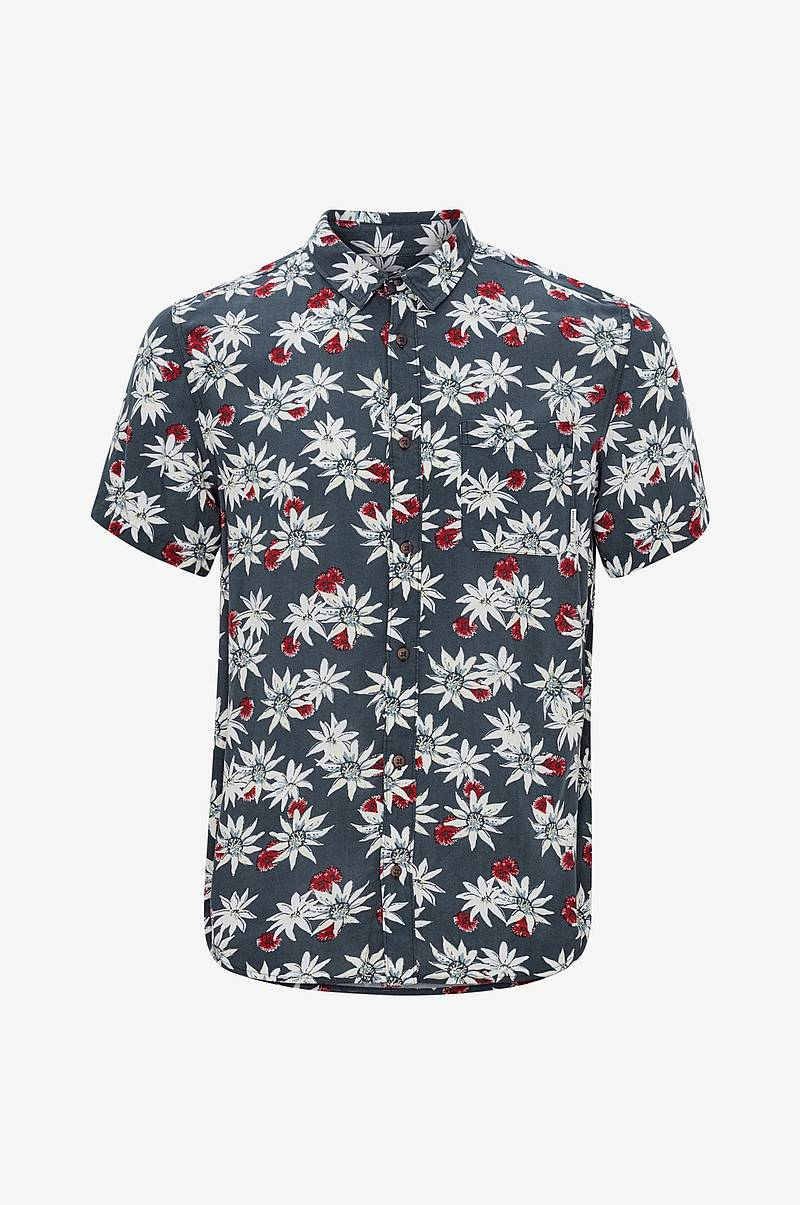 Skjorte Fluid Geometric Short Sleeve
