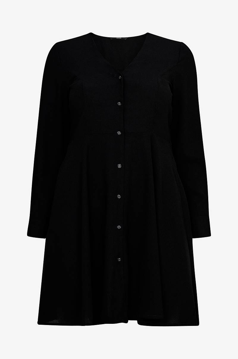 Kjole vmMille L/S Short Shirt Dress
