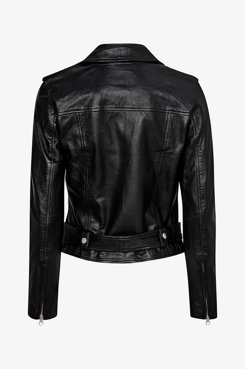 Skinnjakke objNandita Leather Jacket