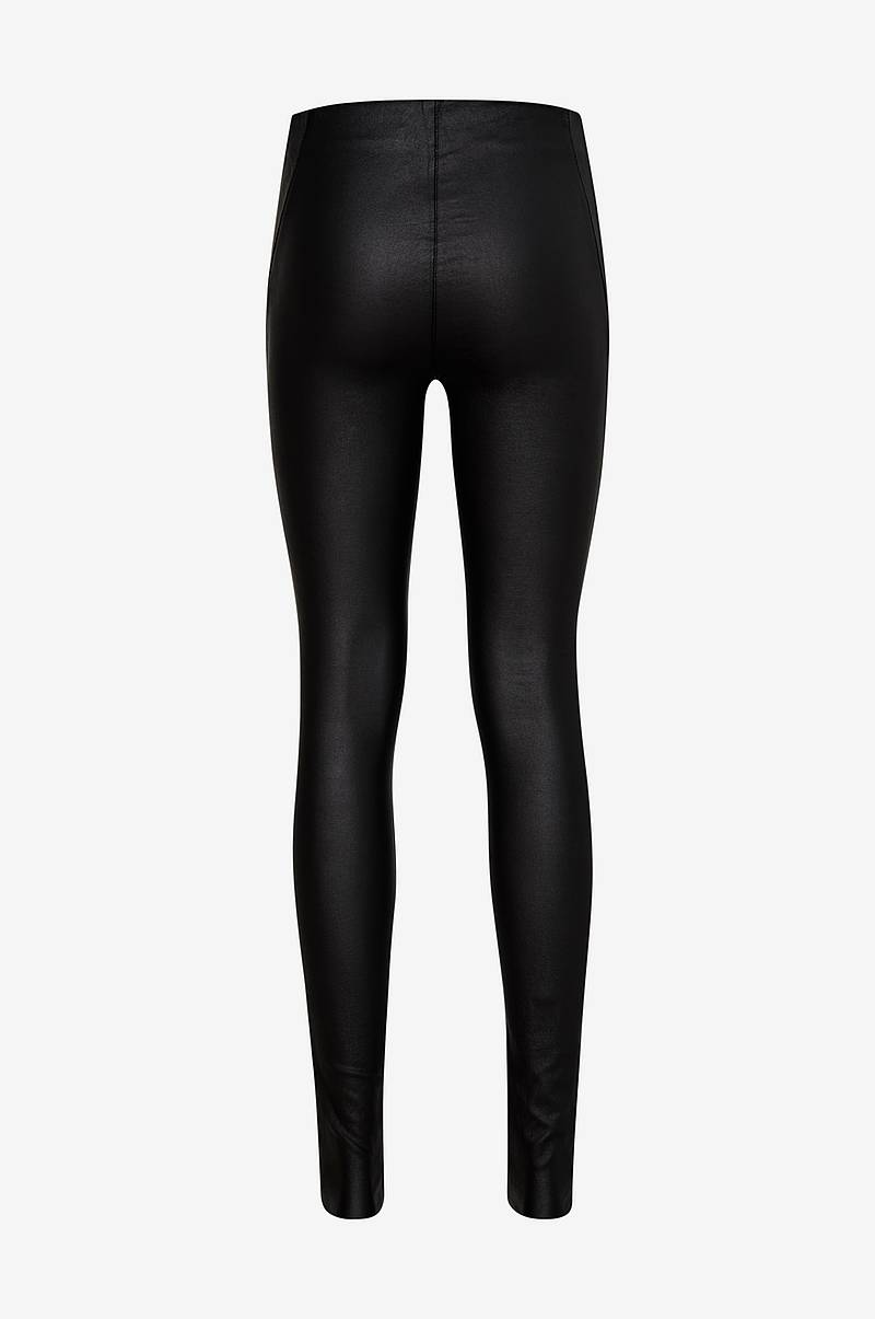ObjBelle MW Coated Leggings leggingsit