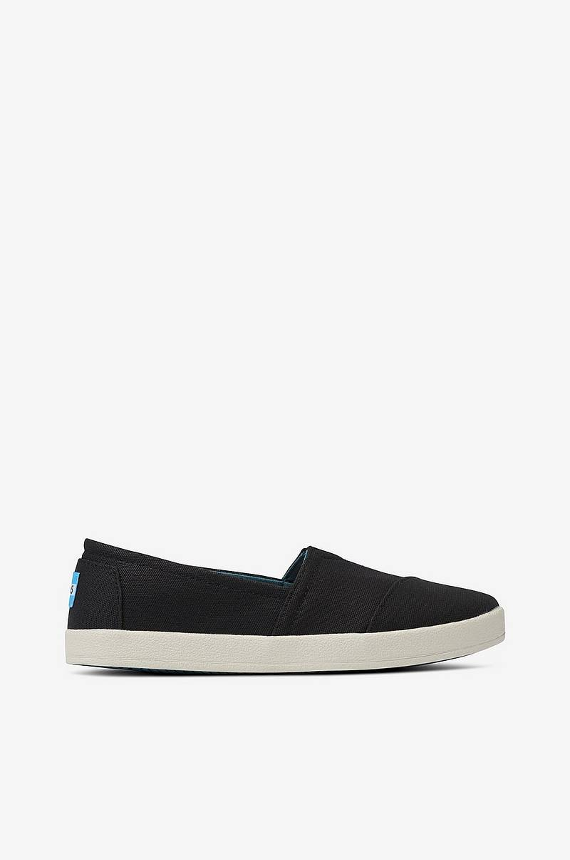 Sneakers Black Coated Canvas Avalon