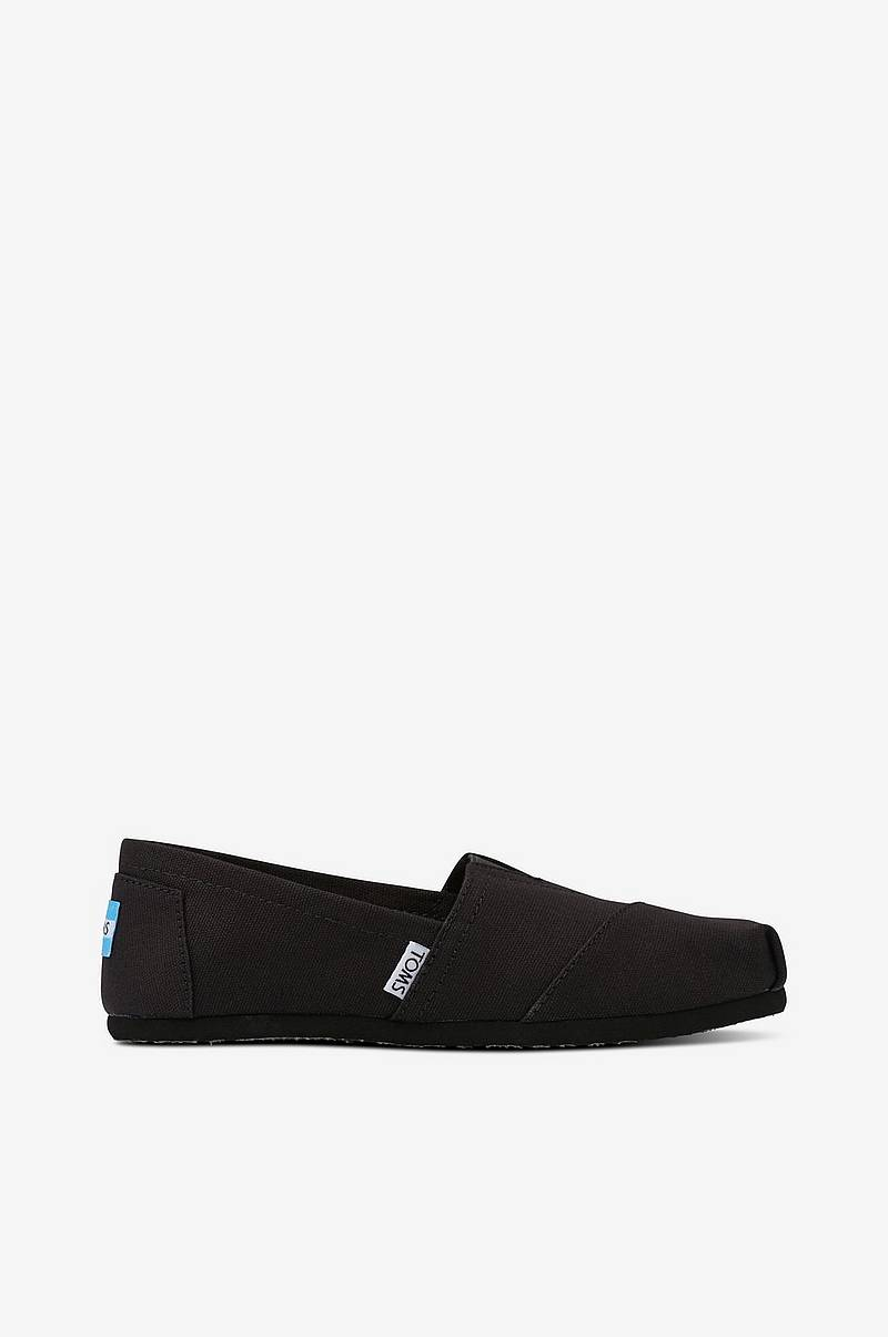 Sneakers / Espadrillos Classic Black on Black Canvas