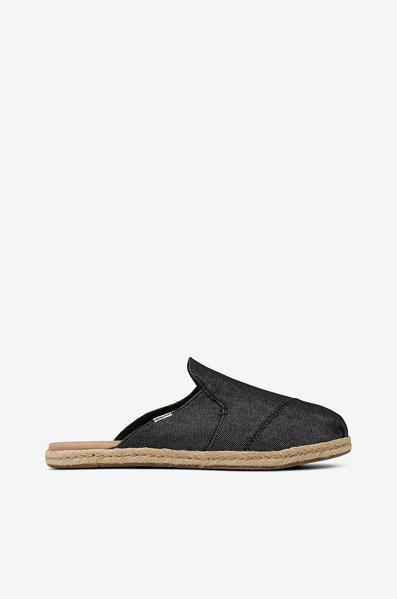 Slip in Nova Black Denim