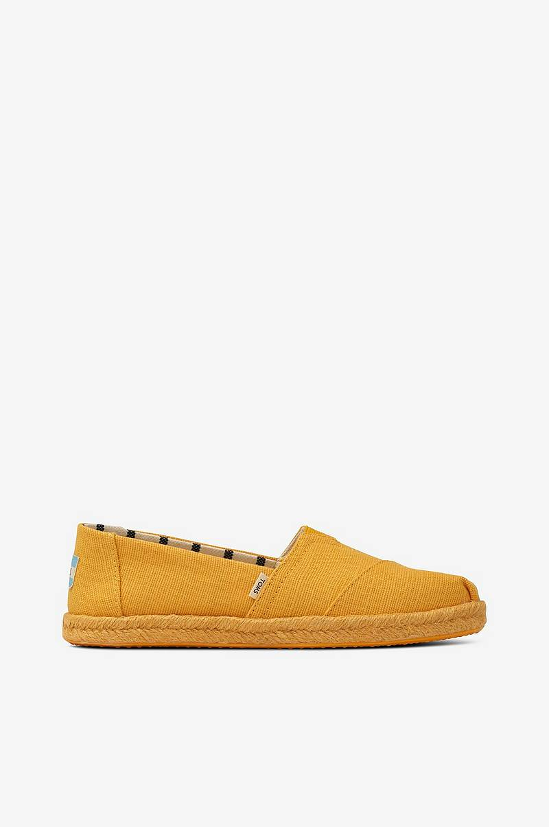 Espadrillos Gold Fusion Canvas On Rope