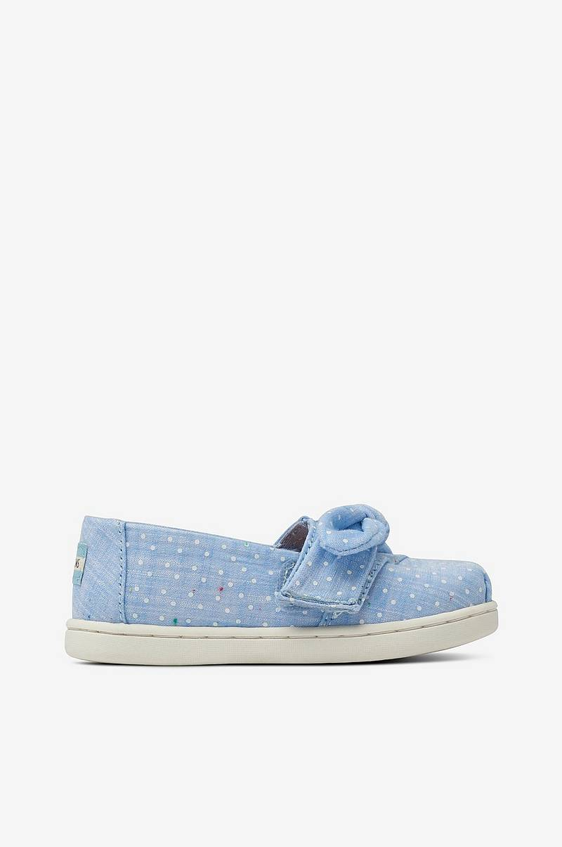 Sneakers Light Bliss Blue Speckled Chambray Dots