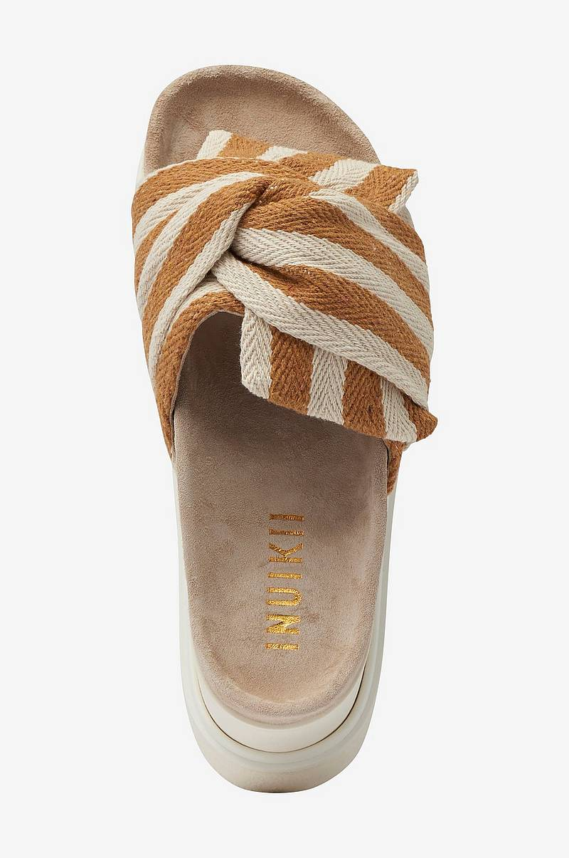 Sandaler Slippers Knot Striped
