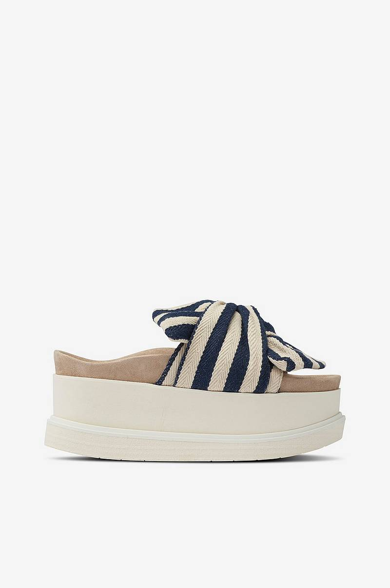 Sandal Slippers Knot Striped