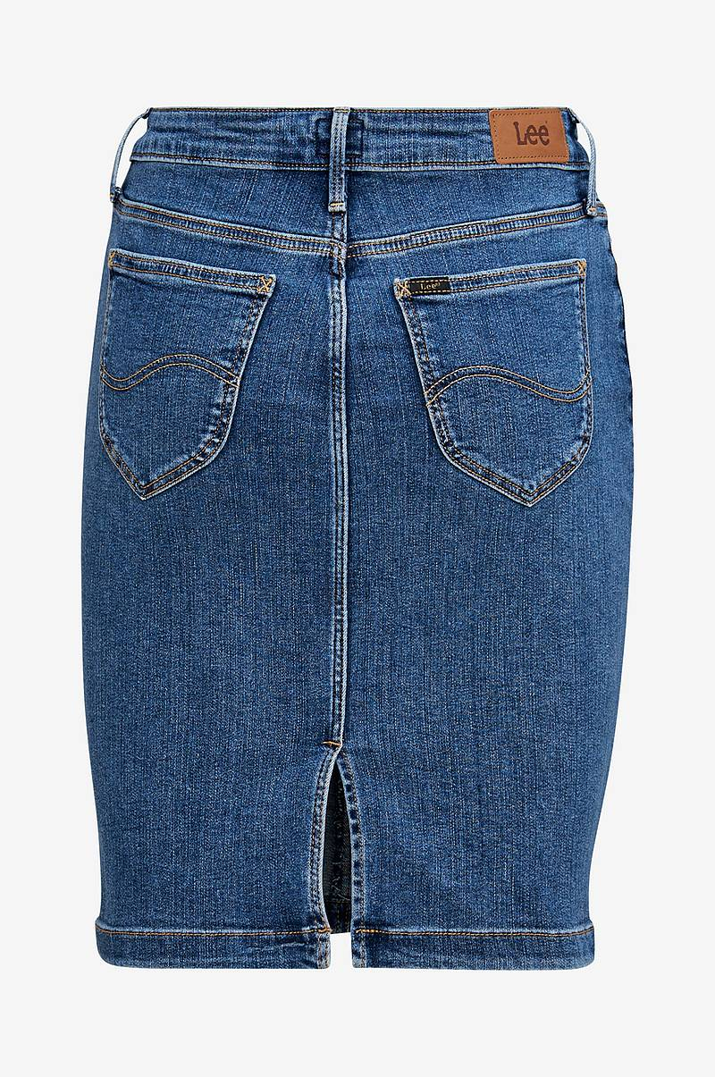 Denimnederdel Pencil Skirt