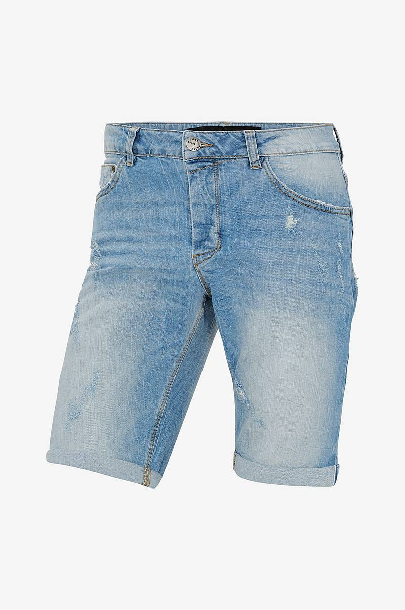 Denimshorts Jason 3/4 1404GY Destroy