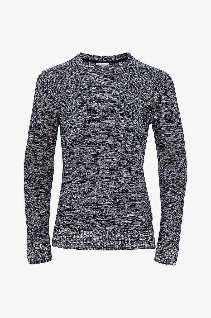 Genser Structure Knit O-Neck