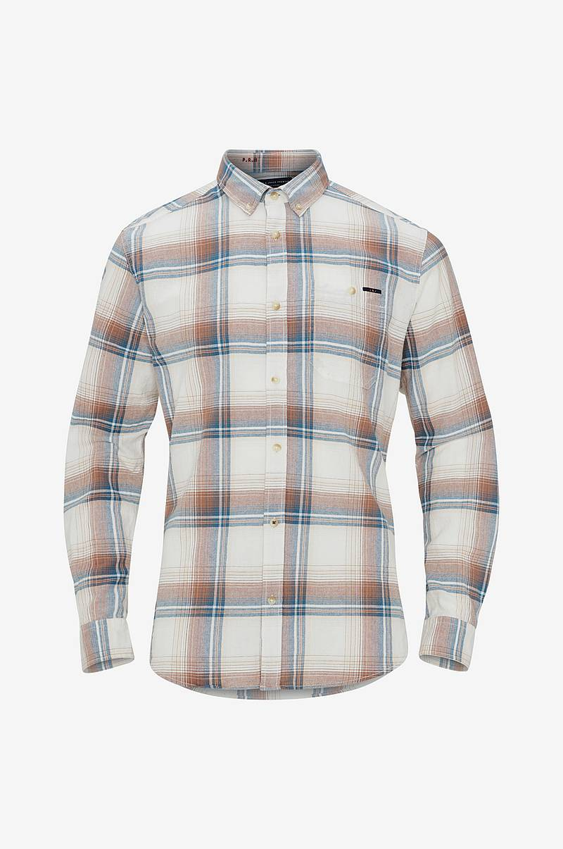 Skjorte jprOregon Check Shirt L/S One Pocket