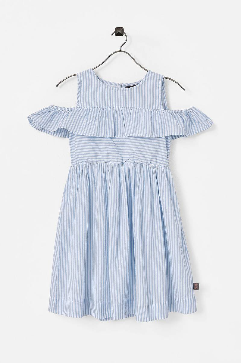 Klänning Blue Stripe Dress