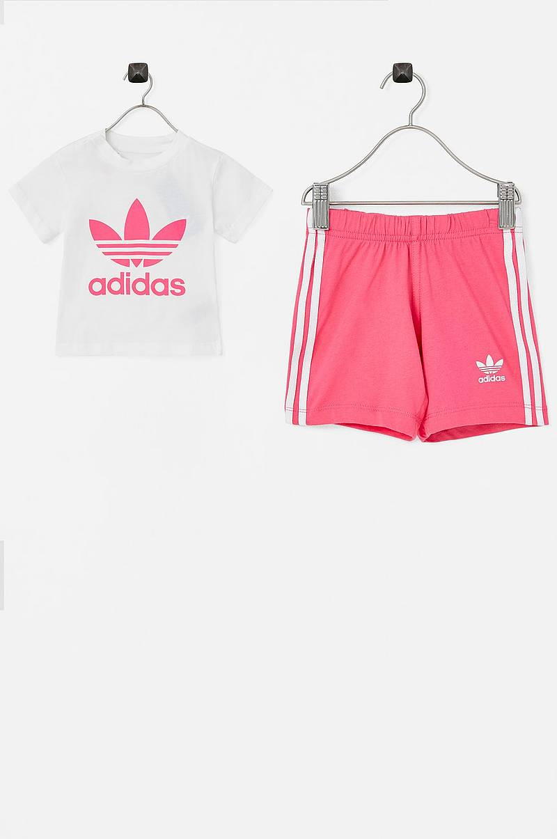 Short Tee Set med T-shirt og shorts
