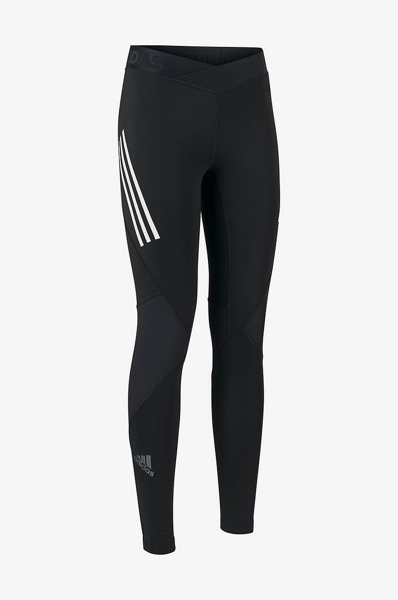 Træningstights Alphaskin Sport 3-stripes Long Tights