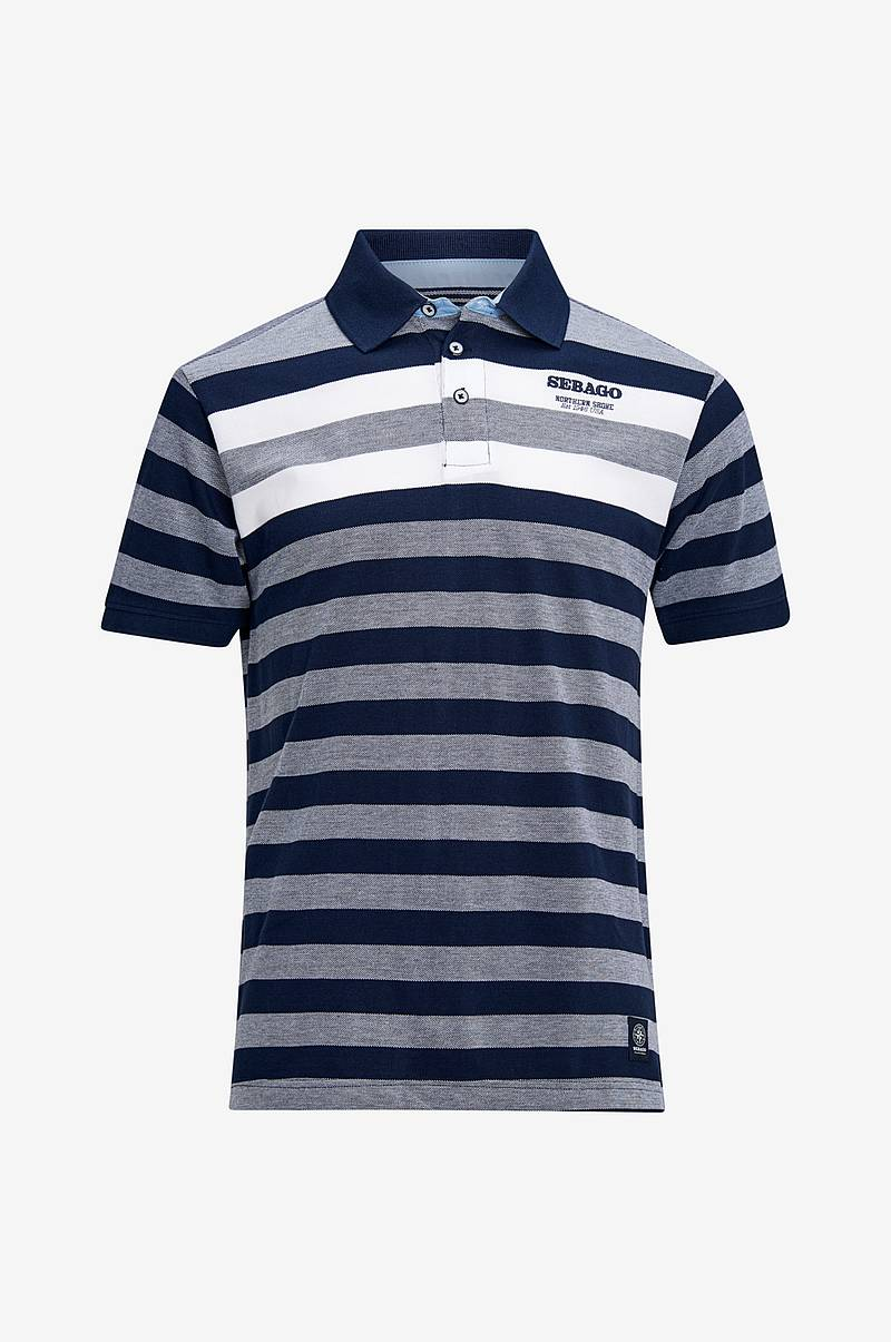 Pikeepaita Striped Polo Pique