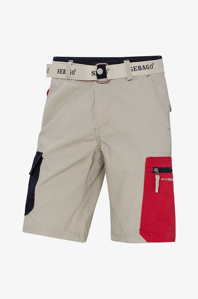 Cargoshortsit Red Pocket Shorts