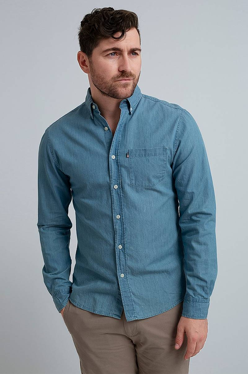 Jeansskjorta Clive Denim Shirt