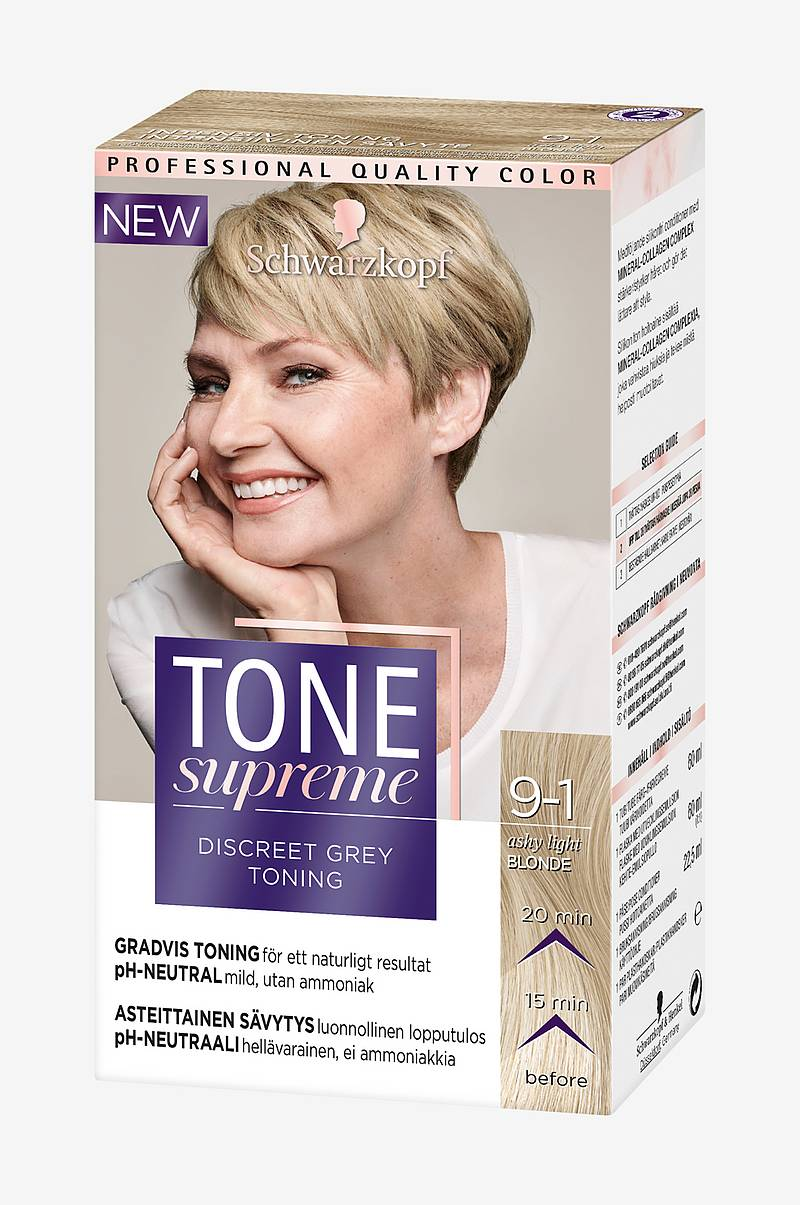 Tone Supreme 9 1 Ashy Dark blond