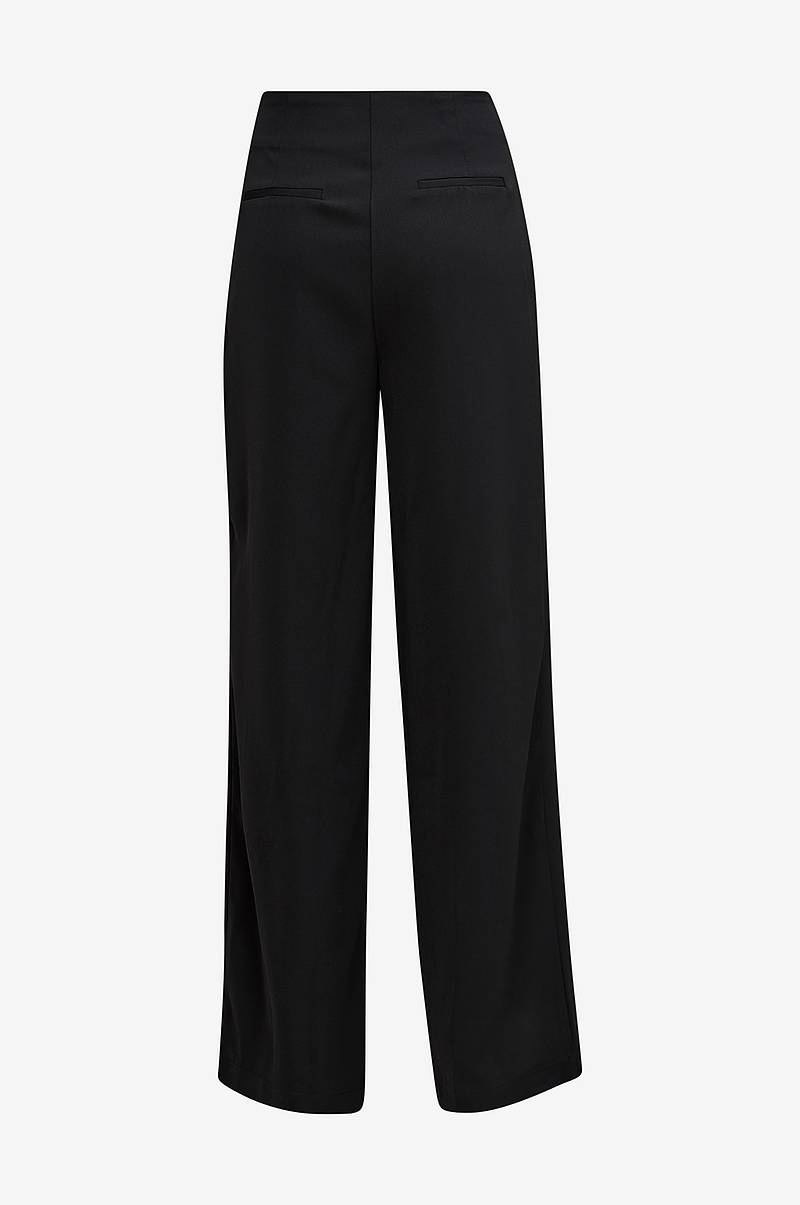 Bukser Wide Leg Button Down Trousers