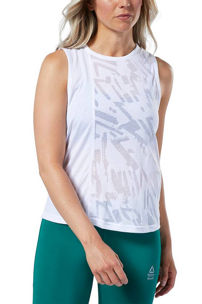 Treenitoppi Reebok Crossfit Burnout Tank Top