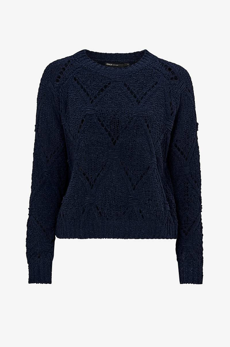 Trøje onlYasmin L/S Structure Pullover