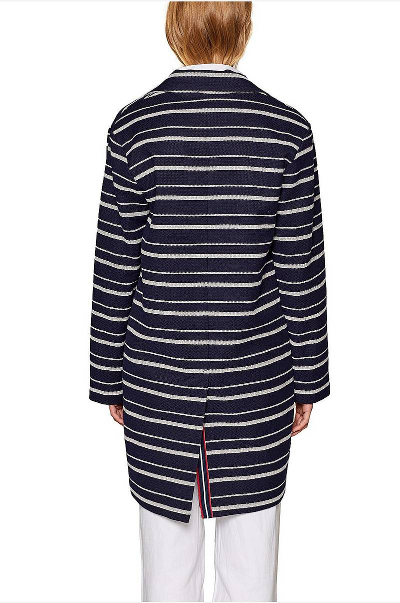 Frakke Striped Coat