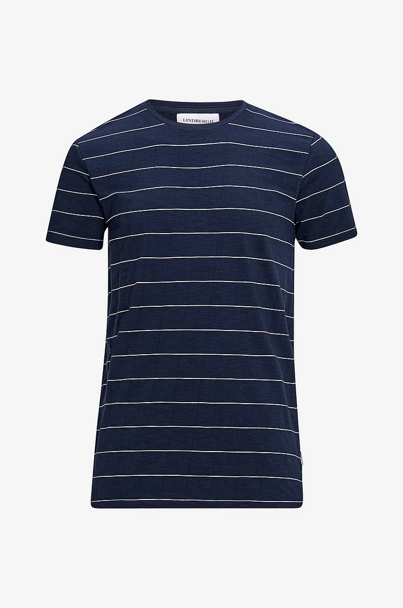 T-shirt Striped Slub Tee s/s
