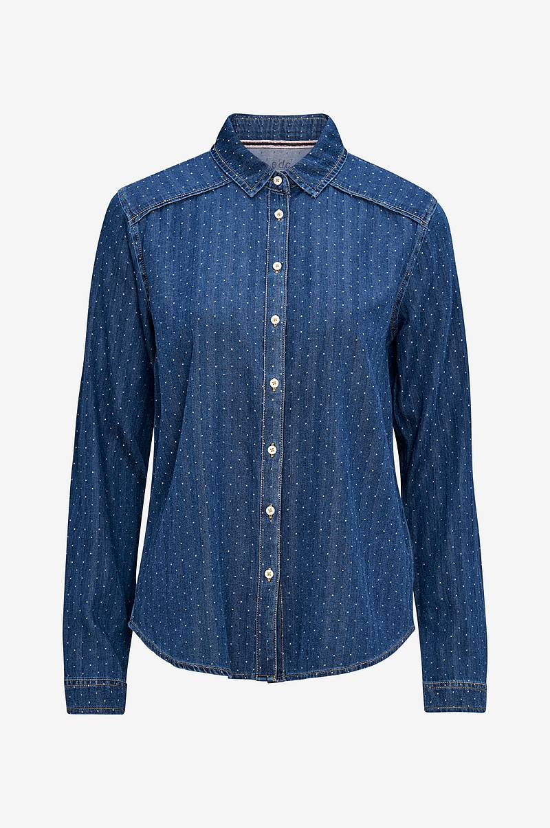 Jeansskjorte Denim Blouse