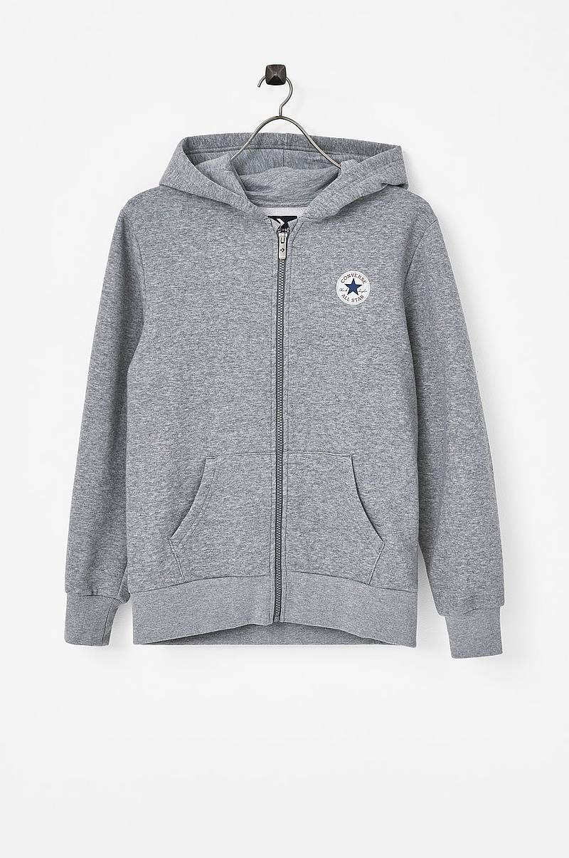 Hættetrøje Fleece Chuck Patch Full Zip Hoodie