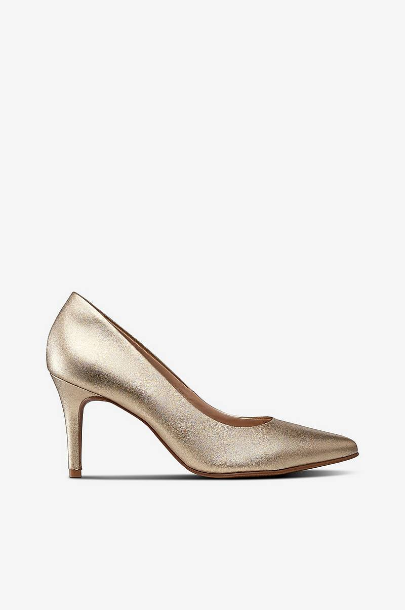 Pumps Lee Metal Dourado