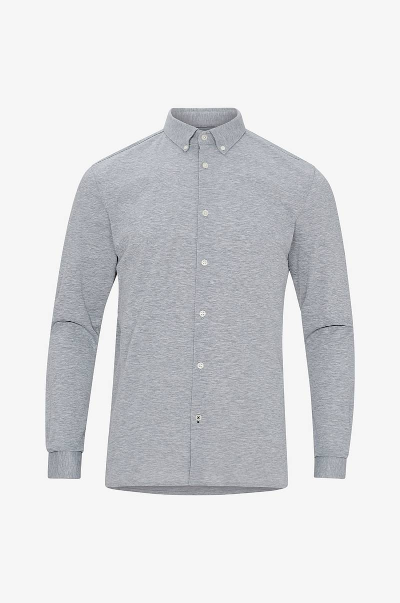 Skjorta med button down-krage