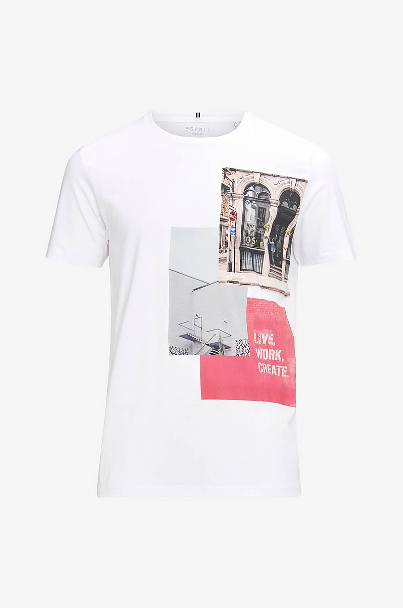T-shirt med fotoprint
