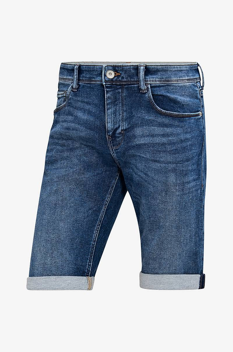 Jeansshorts med superstretch