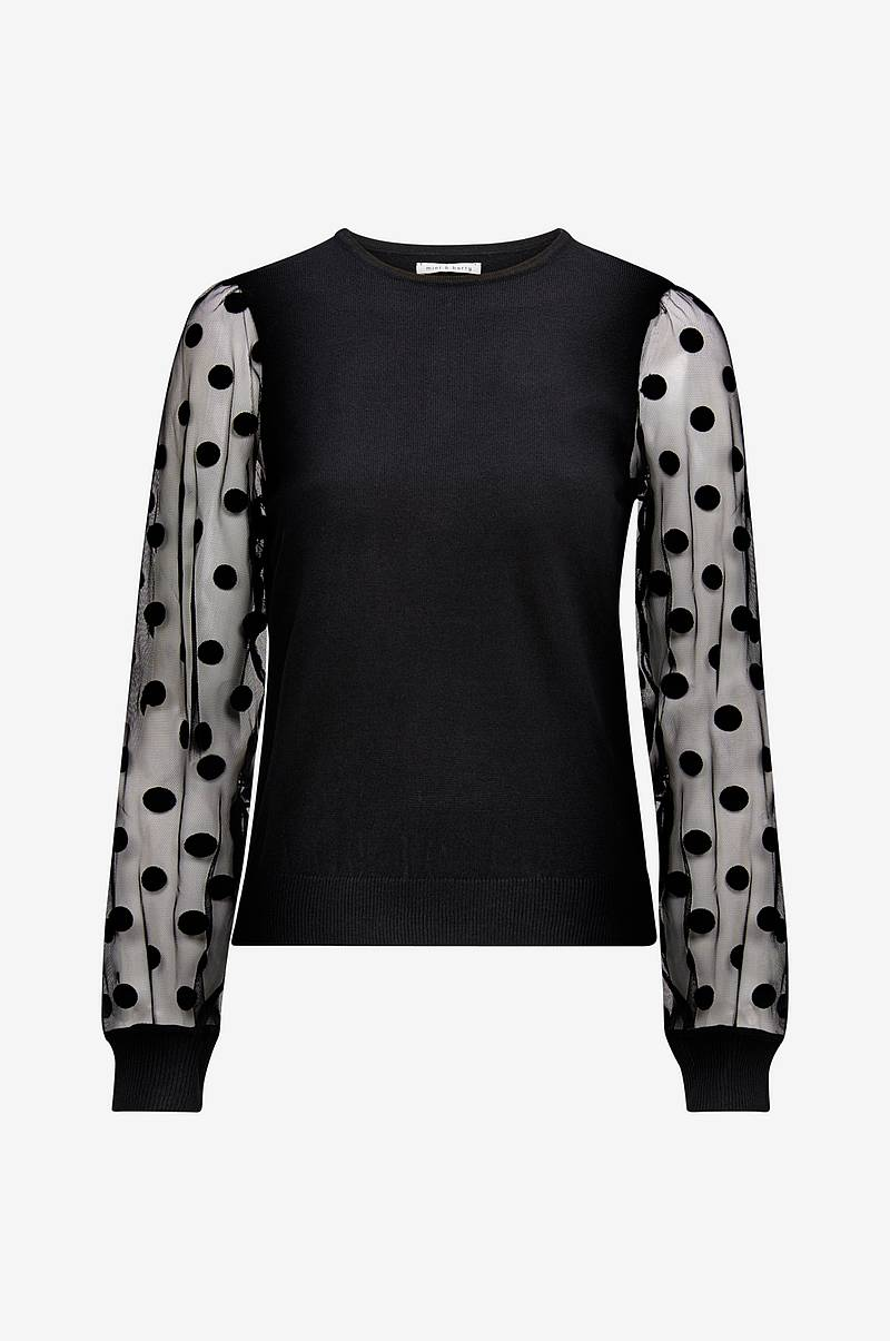 Topp Plumetti Sleeves Jumper