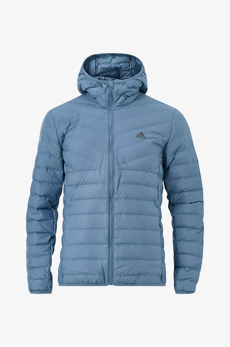 Dunjakke Varlite Soft 3-Stripes Hooded Jacket