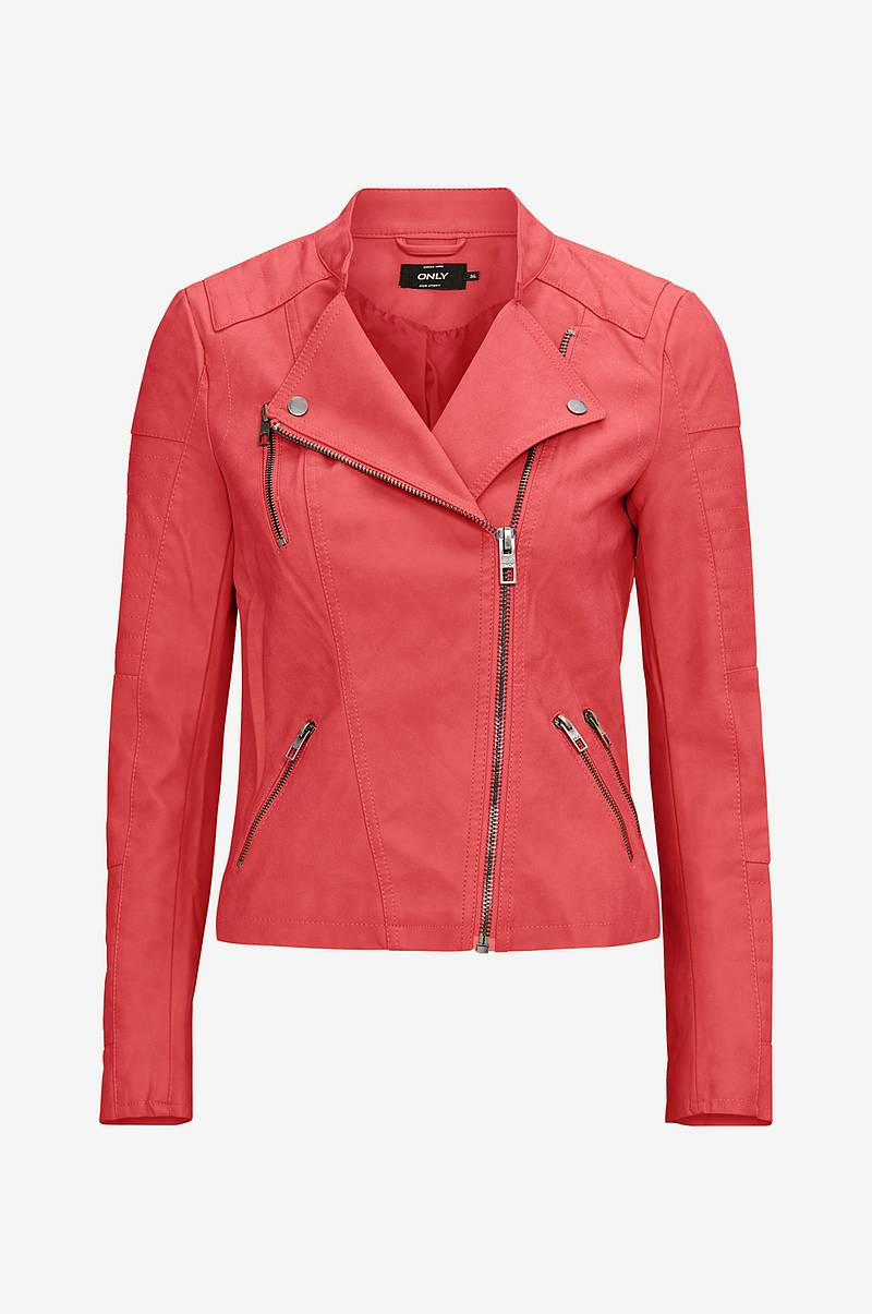 Bikerjakke onlAva Faux Leather Biker