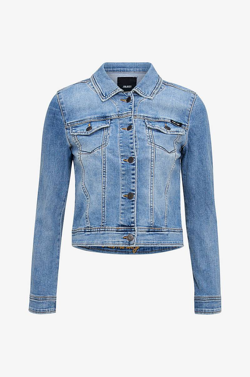 Jeansjakke objWin New Denim Jacket