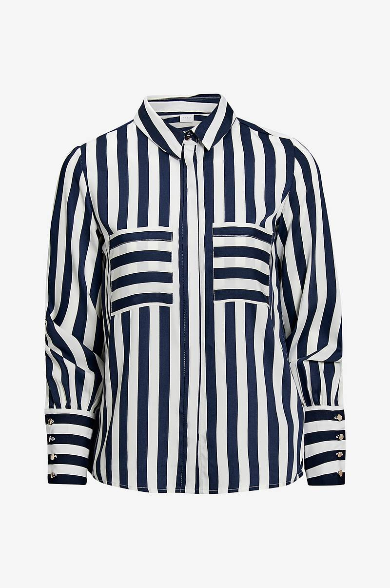 Skjorte viStribello L/S Shirt