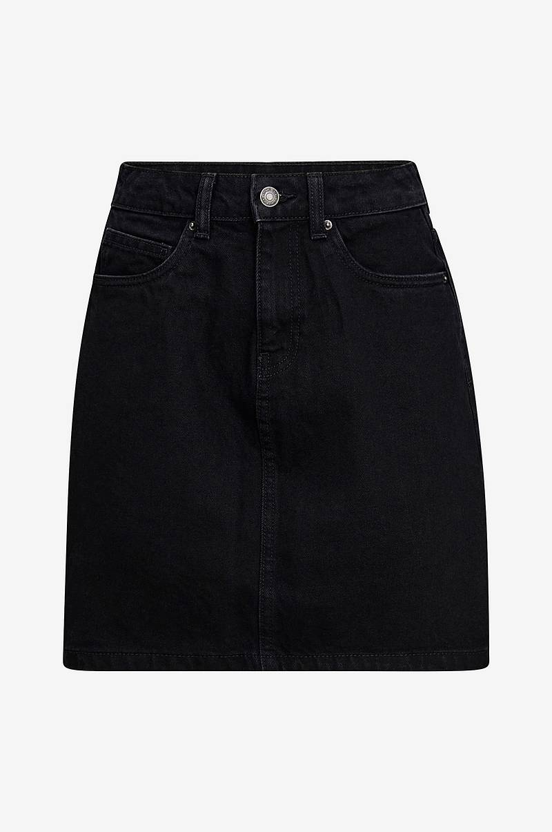Farkkuhame vmKathy HR Short Denim Skirt