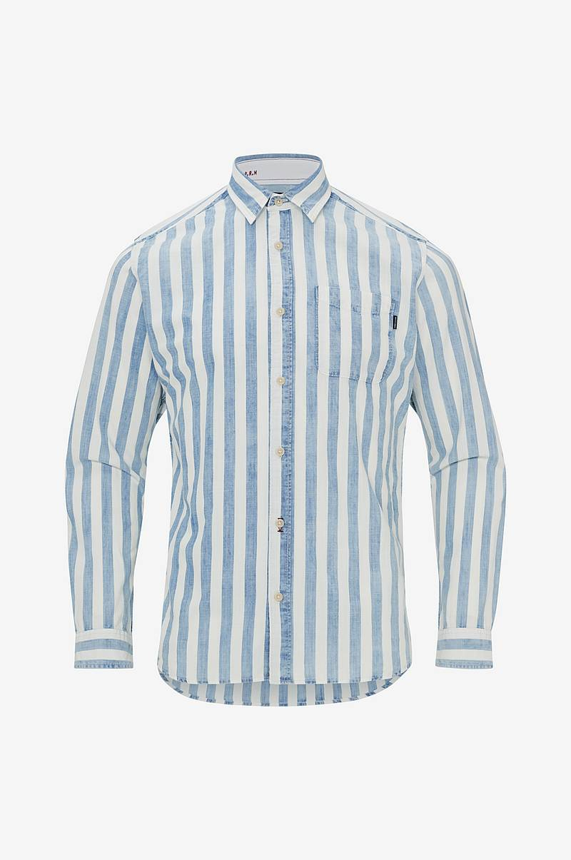 Kauluspaita jprDave Stripe Shirt L/S, slim fit