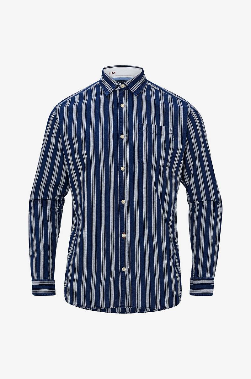 Skjorte jprDave Stripe Shirt L/S, slim fit